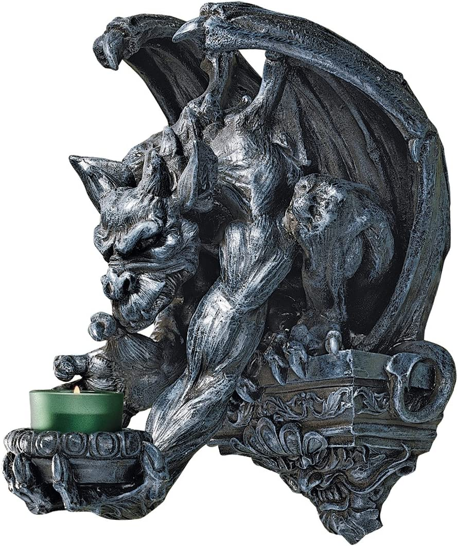 Design Toscano Whitechapel SEAL limited product Manor Sconce Gargoyle Wall Fort Worth Mall