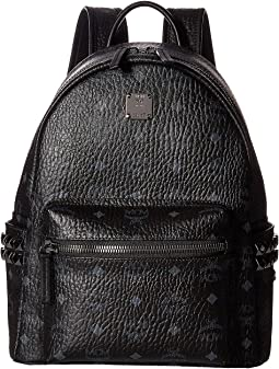 MCM Stark Side Stud Small Backpack