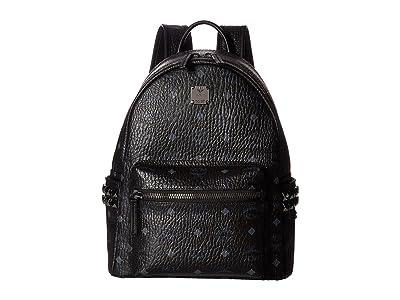 MCM Stark Side Stud Small Backpack (Black) Backpack Bags