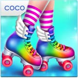 Roller Skating Girls - Dance on Wheels & Fashion Game