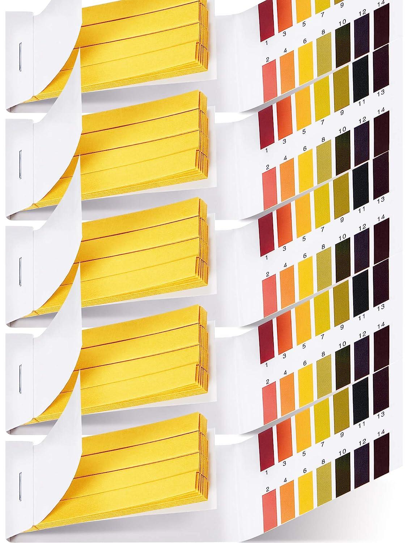 400 Pieces Test Paper pH Test Strips Litmus Test Paper Universal