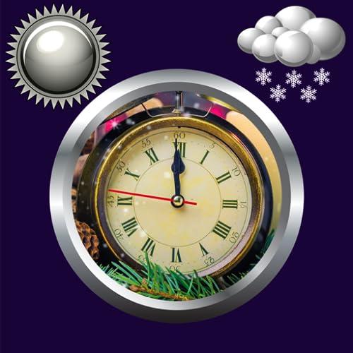 Neujahr Uhr Wetter Widget