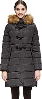 Orolay Women's Down Jacket Hooded Outdoor Winter Thickened Coat