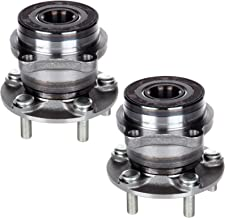 ECCPP Replacement for Pair of 2 New Complete Rear Wheel Hub Bearing Assembly 5 Lugs w/ABS for 2008-2013 Subaru 512401¡Á2