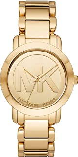 Gold-Tone Steel Women's Watch