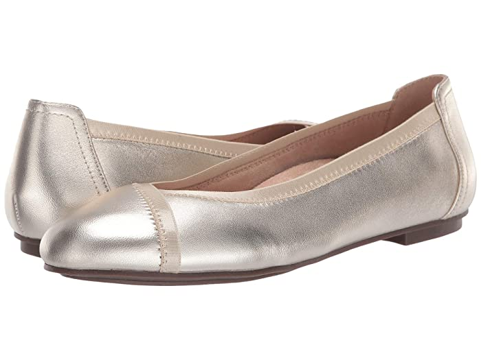 VIONIC  Caroll Metallic (Champagne) Womens Shoes