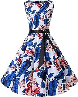 Women's 1950s Audrey Summer Vintage Rockabilly Swing Dress