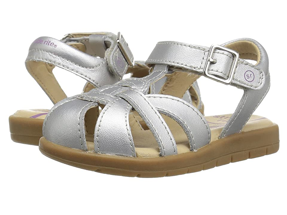 Stride Rite Summer Time (Little Kid) (Silver) Girl