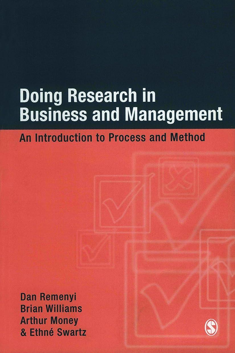 代わりにスキニーカラスDoing Research in Business and Management: An Introduction to Process and Method (English Edition)