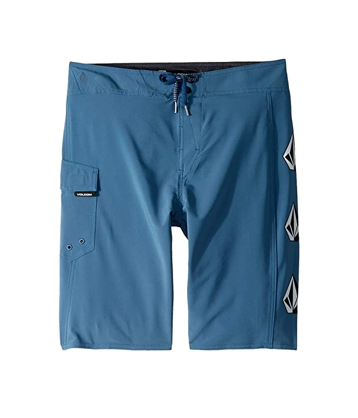 Volcom Kids Deadly Stone Mod Boardshorts (Big Kids) (Air Force Blue) Boy
