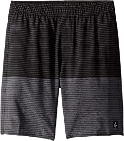 Lido Heather Volley Boardshorts (Little Kids/Big Kids)