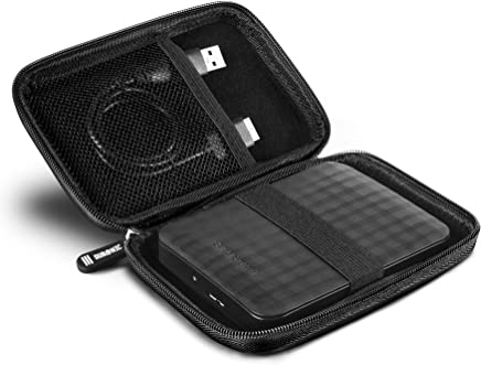 Duronic HDC2 Portable Hard Drive Case - EVA Carry Case - Suitable for WD/western digital | Toshiba | Buffalo | Hitachi | Seagate | Samsung | 500GB | 1TB | 2TB | 3TB Hard Black Carrying Case