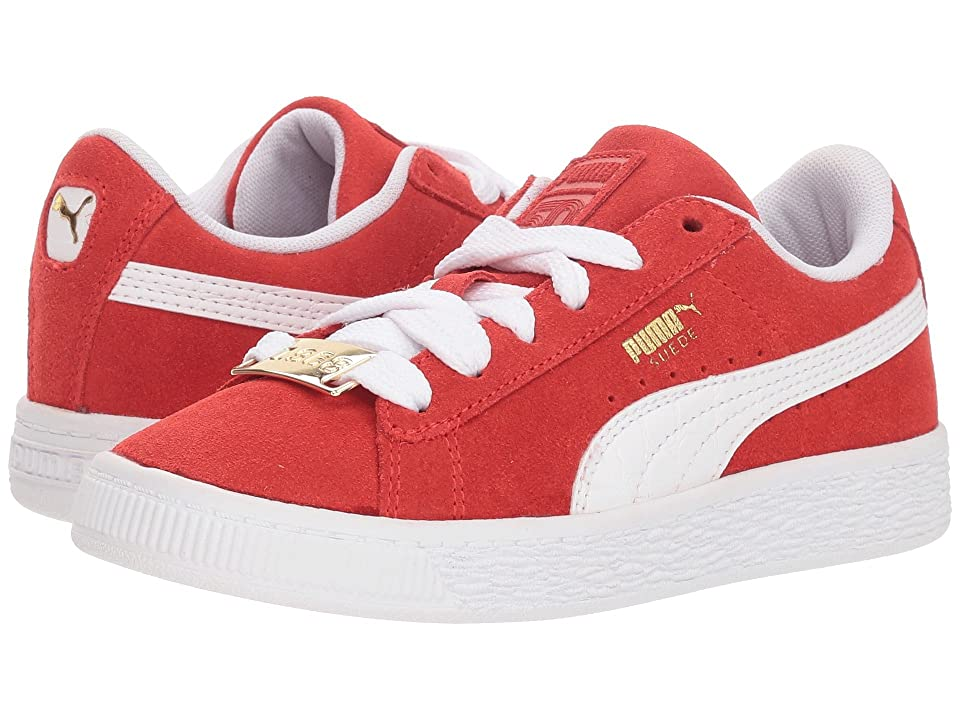 92583b895e68 Puma Kids Suede Classic BBOY Fabulous (Little Kid) (Flame Scarlet PUMA White
