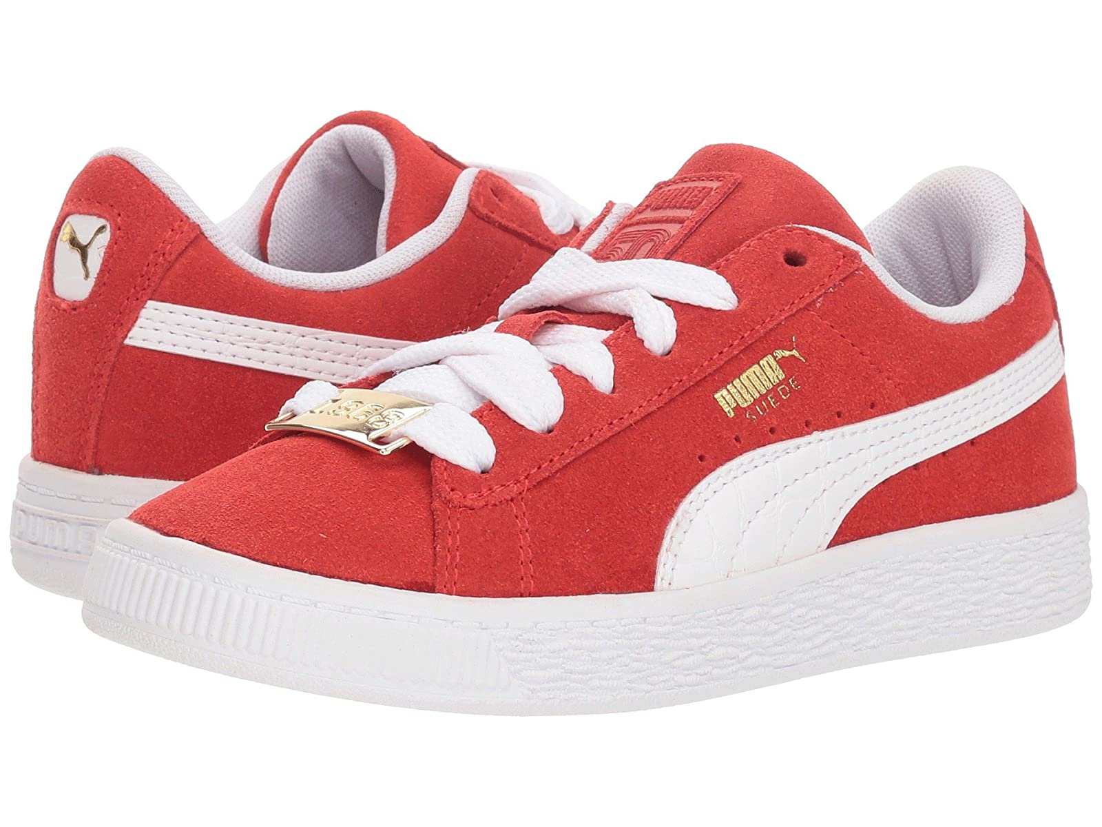 Puma Kids Suede Classic BBOY Fabulous (Little Kid)Cheap and distinctive eye-catching shoes