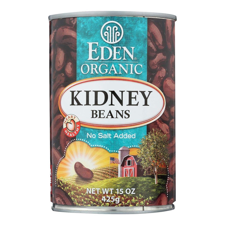Eden Foods Rare Organic Kidney Beans 15 case. 12 Ounce per - specialty shop