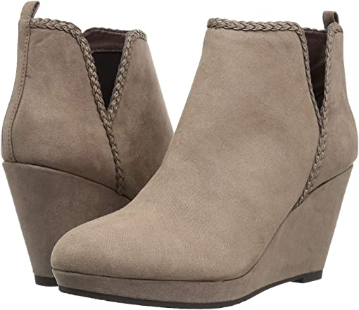 Dusty Taupe Suede