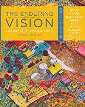 [(The Enduring Vision : A History of the American People, Volume II: Since 1865, Concise)] [By (author) Merle Curti Profes...