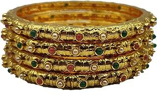 Classiques Gold Beaded Jewellery Bangle