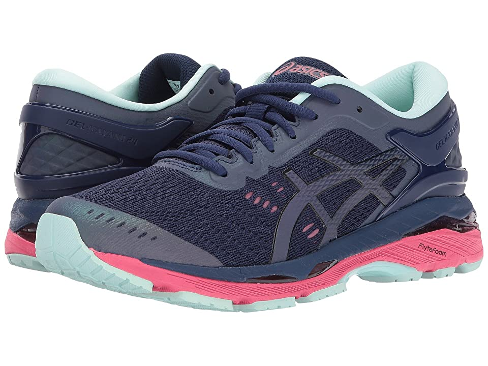 ASICS GEL-Kayano(r) 24 Lite-Show (Indigo Blue/Black/Reflective) Women