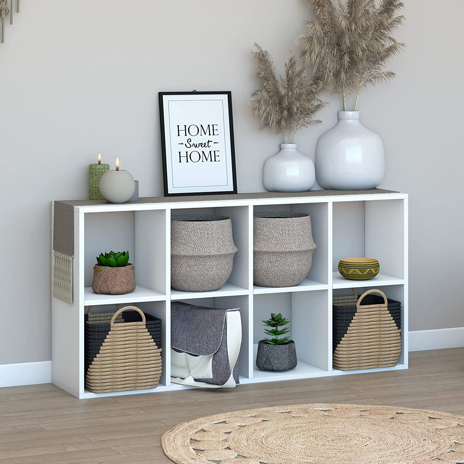 LETMOBEL Limited time cheap sale Cube Max 45% OFF Organizer Book Shelf Storage with