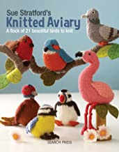 knitted toy flamingo