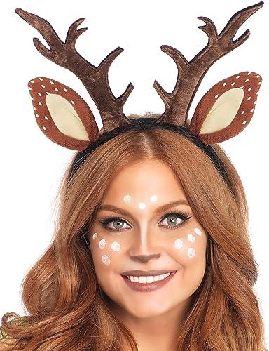 Leg Avenue Women's Fawn Horn Headband