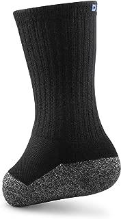 Dr. Comfort Transmet Crew Socks for Partial Foot Amputation (Medium (Men's 8.5-10/Women's 9.5-11), Black)…