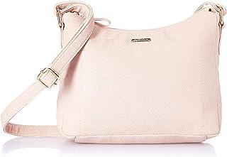 Amazon Brand - Eden & Ivy Women's Eden & Ivy Cross Body in Textured PU (Pink)