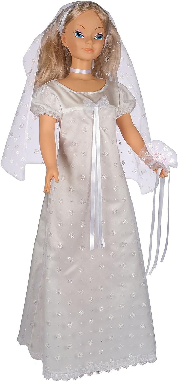 Migliorati B095 Barbara Sposa Doll, 105 cm