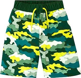Harry Bear Boys Swim Shorts Camo