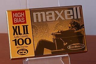 Maxell XLII 100 Minute Audio Cassette (3-Pack Plus 1 Bonus)
