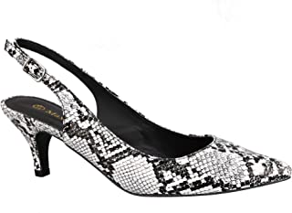 7565ed3afc Amazon.co.uk: White - Court Shoes / Women's Shoes: Shoes & Bags