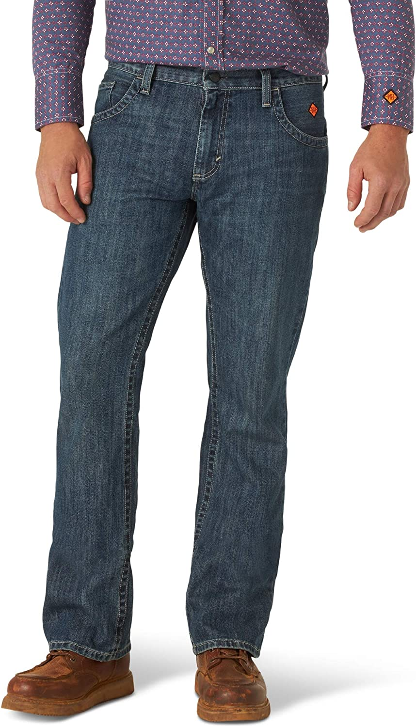Wrangler Riggs Workwear Men's Cheap super special price Fr Resistant Flame New arrival Vintage Boo 20x