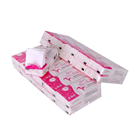 Origami So Soft 3 Ply Pocket Hanky Tissues - 10 pulls per Pack - 20 Packs - Total 200 pulls