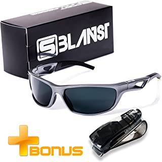 Polarized Sunglasses for Men - Women | Full UV Protection | Best Sports Shades | Comfortable...