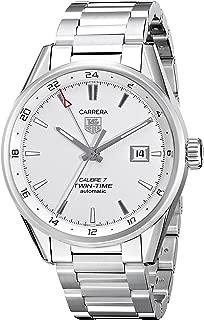 Men's WAR2011.BA0723 Carrera Automatic Stainless Steel Bracelet Watch