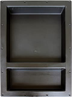 Large Double Recessed Shower Niche, Ready to Tile, 25