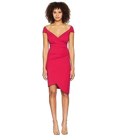 Nicole Miller Stefanie Dress (Fuchsia) Women