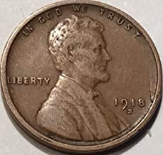 1918 lincoln penny