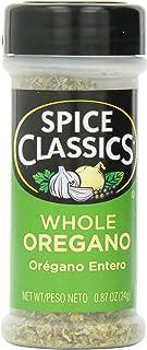 Spice Classics Whole Oregano, 0.87 oz (Pack of 12)