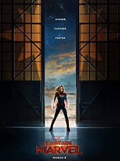 Captain Marvel Poster Standard Size 18×24 inches