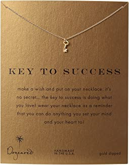 Dogeared - Key To Success Necklace 16