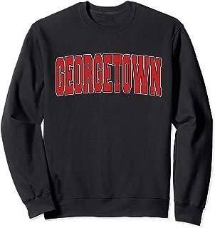 GEORGETOWN KY KENTUCKY Varsity Style USA Vintage Sports Sweatshirt