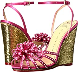 Pretty Pink/Gold Satin/Glitter