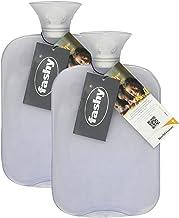 بطری آب گرم کلاسیک شفاف - ساخته شده در آلمان (پاک - 2pk)