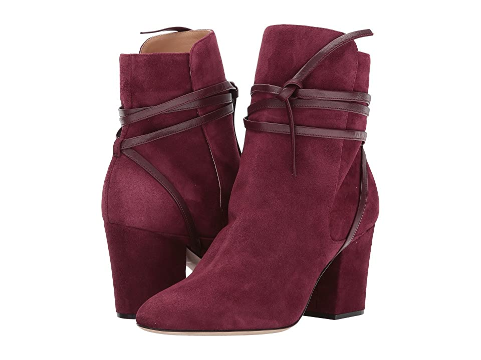 Sergio Rossi Tea (Dark Cherry Royal/Nappa) Women