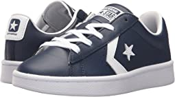 Converse Kids PL 76 Foundational Leather Ox (Little Kid/Big Kid)