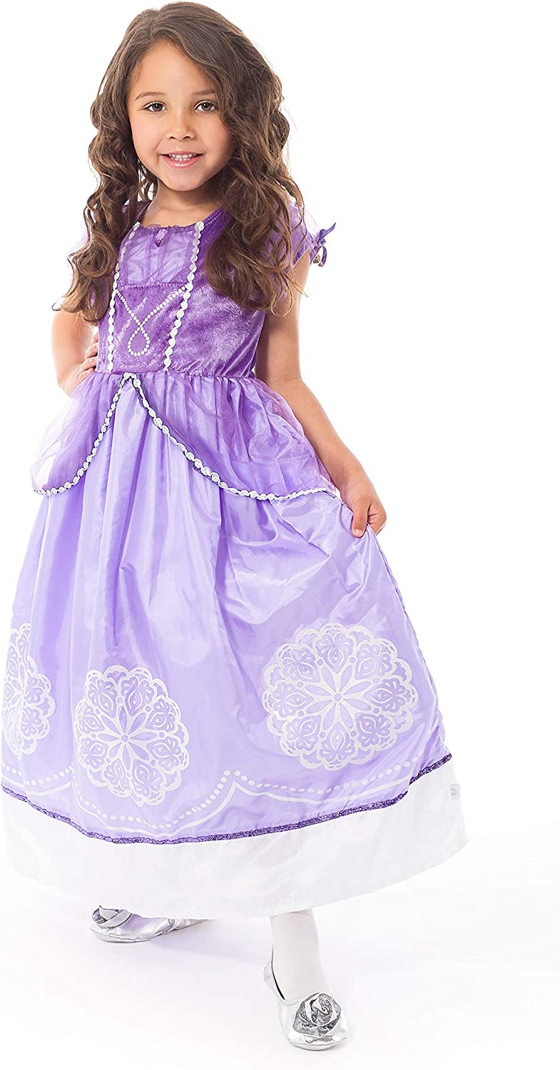 Little New product type Adventures Purple Amulet Dress Costume Opening large release sale Up Princess