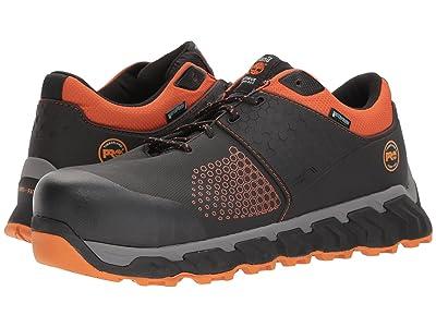 Timberland PRO Ridgework Composite Safety Toe Waterproof Low (Black) Men