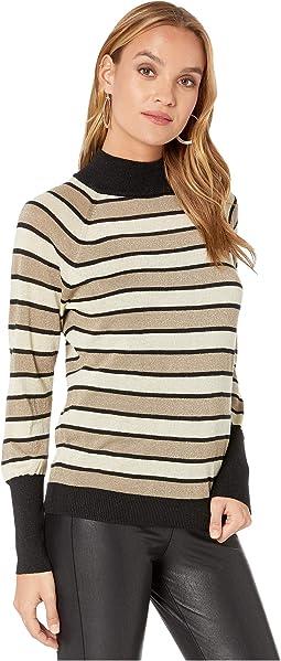 Black/Gold Stripe